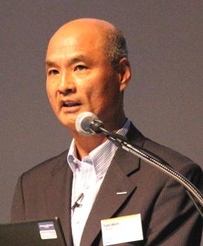 旭化成 取締役兼常務執行役員の小林宏史氏