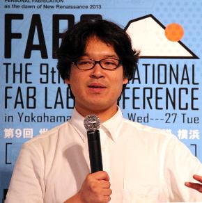 FAB9実行委員長で慶應義塾大学環境情報学部准教授の田中浩也氏