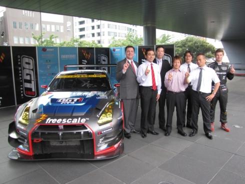 スーパーGT第4戦でADASの実装実験を行う「IWASAKI OGT Racing GT-R」