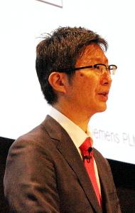 シーメンスPLMソフトウェア 日本法人 代表取締役社長の島田太郎氏