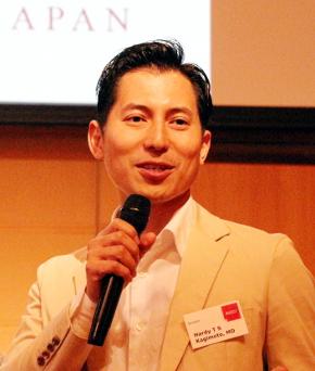 日本網膜研究所の代表取締役社長兼CEOの鍵本忠尚氏