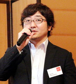 LINE代表取締役社長の森川亮氏