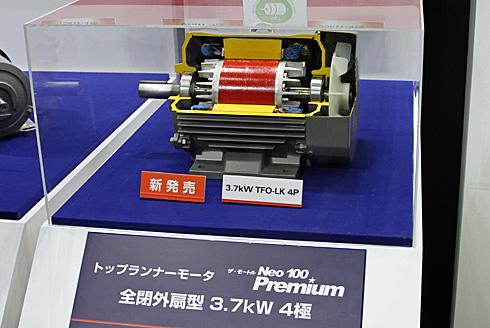 大きなブースで展示していた日立産機システム