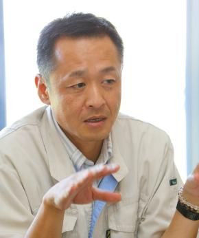理想科学 コーポレート本部 情報システム部 システム二課長の伊藤敦宏氏