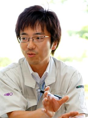 理想科学 製造本部 製造企画部 企画統括課の伊藤裕昭氏