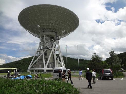 宇宙航空研究開発機構(JAXA)の臼田宇宙空間観測所