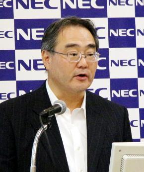 NEC取締役 執行役員 兼 CFOの川島勇氏
