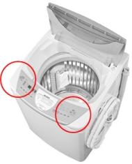 シャープがリコールを行う全自動洗濯機