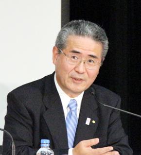 トヨタ常務役員の佐々木卓夫氏
