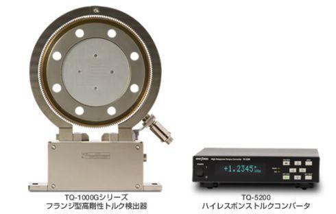 フランジ型高剛性トルク検出器「TQ-1000G」シリーズ