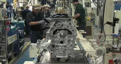 TMMWVにおける生産の様子