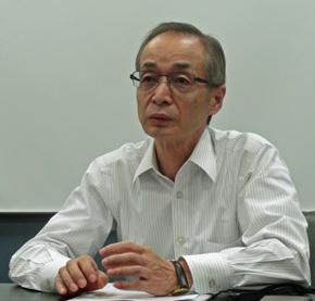 ニューゾーン 取締役副社長の金山信夫氏