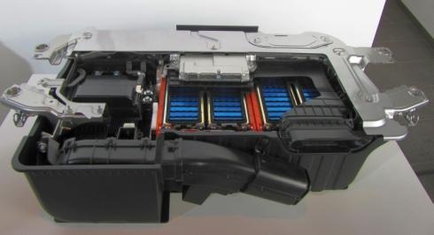 「i-DCD」のIPUのカットモデル