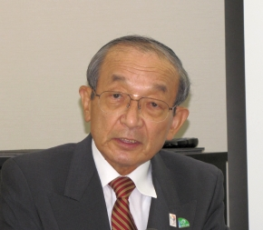ITS世界会議東京2013 日本組織委員会の委員長を務める渡邊浩之氏