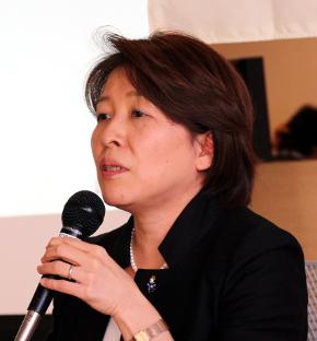 プロジェクトを設立したMozilla Japanの代表理事である瀧田佐登子氏