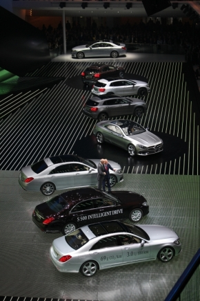 メルセデス・ベンツブランドが記者発表で公開した新型車やコンセプトモデル