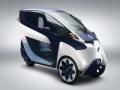 トヨタ自動車の超小型EV「i-ROAD」