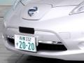 日産自動車の自動運転車のナンバーは「2020」