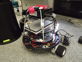 自律巡回 Kinect警備ロボ Pochi Mk-II(2)