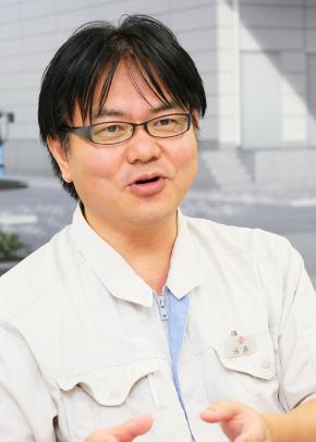 経営管理本部 経営管理部 生産管理課 課長の永島洋行氏
