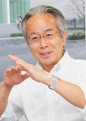 東亜薬品工業 経営管理本部 経営管理部 部長の山中竹博氏