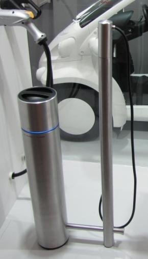 デンソーの「定置型DC普通充電器」