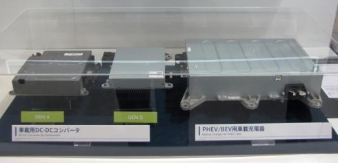 TDKの車載用DC-DCコンバータと車載充電器