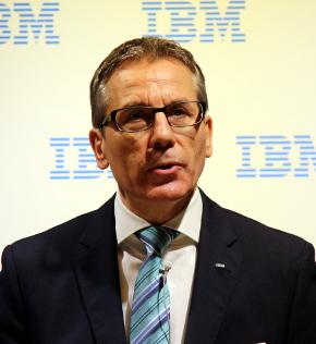 日本IBM 代表取締役のマーティン・イェッター(Martin Jetter)氏