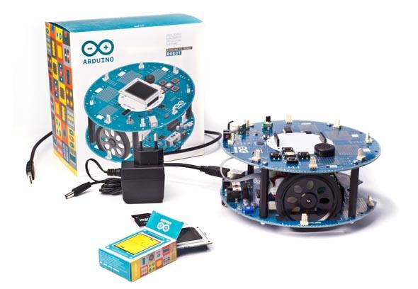 車輪付きロボット「Arduino Robot(アルドゥイーノ ロボット)」