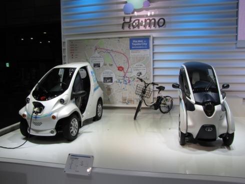 都市交通システム「Ha:mo」で使用されている車両