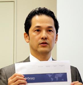 アリックスパートナーズ・アジア・エルエルシーのバイスプレジデントの上野正雄氏