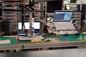 キーボードの打鍵検査装置とインタフェース検査装置