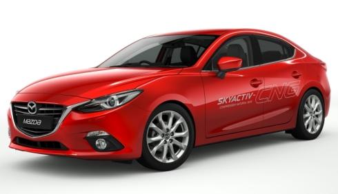 「Mazda3 SKYACTIV-CNGコンセプト」の外観