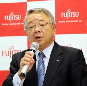 富士通 執行役員常務 産業・流通営業グループ長の花田吉彦氏