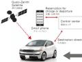 デンソーの自動駐車と「スマートチャージング」のデモ