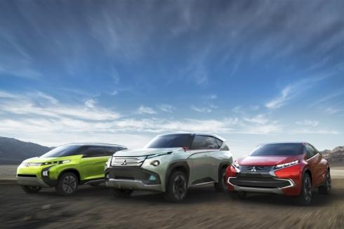 三菱自動車が「第43回東京モーターショー2013」で出展する3台のコンセプトカー