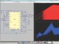 「LTspice IV」のMac OS X対応バージョンの画面例