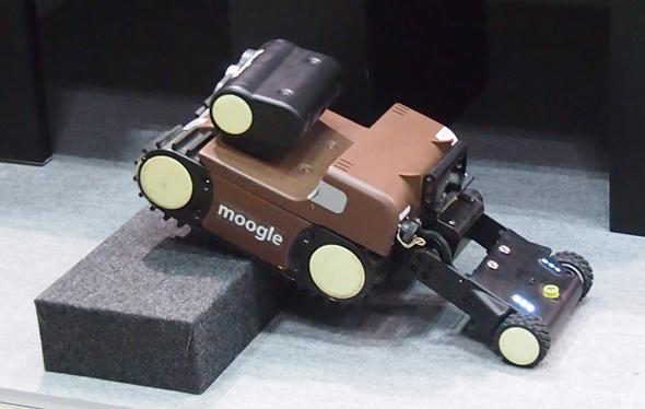 狭小空間点検ロボット「moogle(モーグル)」