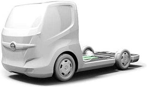 日野自動車の「小型EV商用車プラットフォーム」