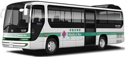 日野自動車のPHEVバス「メルファ プラグインハイブリッド」