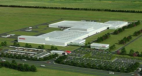 HABの新四輪車工場の完成イメージ
