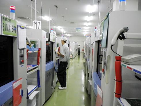 EMMAの通電検査装置