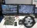バイテックの「Atom E3800」と「Tizen IVI」を用いたカーナビゲーションシステムのデモ