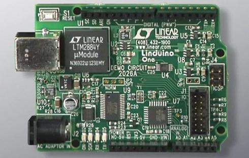 Arduino互換プラットフォーム「Linduino One」