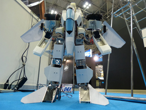 2足歩行ロボット形態