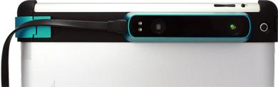 「iPad」専用ポータブル3Dスキャナー「Structure Sensor」