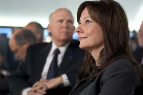 GMの新CEOに就任するマリー・バーラ氏