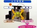 「エコプロダクツ2013」でパナソニックが展示した人工光合成システム