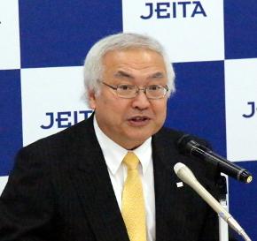 JEITA 代表理事会長 佐々木則夫氏