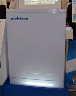ニチコンの家庭用蓄電システム(容量7.2kWh)